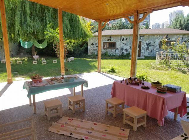 özel anaokulu etkinlik alanı